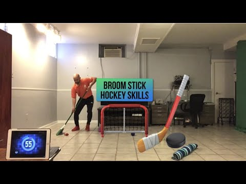 "PE At Home: ""Broom Stick/Hockey Skills"" Challenge"