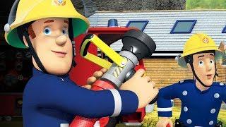 Sam le Pompier francais 2018   Sam a des ennuis - 1h Compilation   Dessin Animé