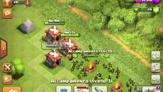 Clash of Clans parte 1 challenge con i goblin, cerchiamo di vinceré!!🚩