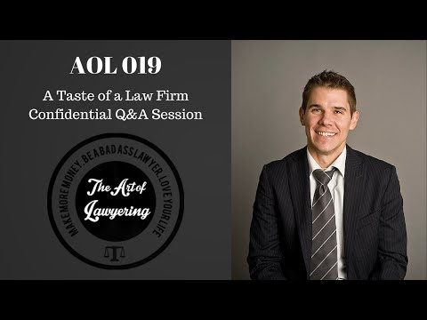 AOL 019: Law Firm Confidential Q&A Excerpt