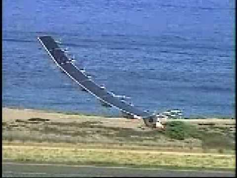 Helios Solar Powered Aircraft