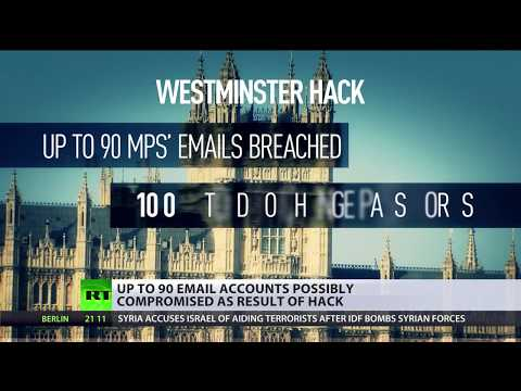 Westminster hack: Media accuses Russian hackers of breaching UK parliament accounts
