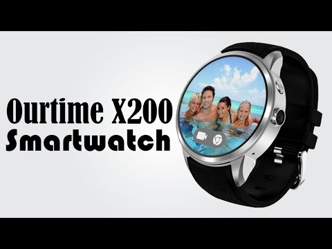 Ourtime X200 3G Smartwatch Phone -  1.39 inch / Android 5.1 / Waterproof / 512MB RAM / 8GB ROM