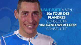 Le 10e Paris-Roubaix consécutif de Matthieu Ladagnous
