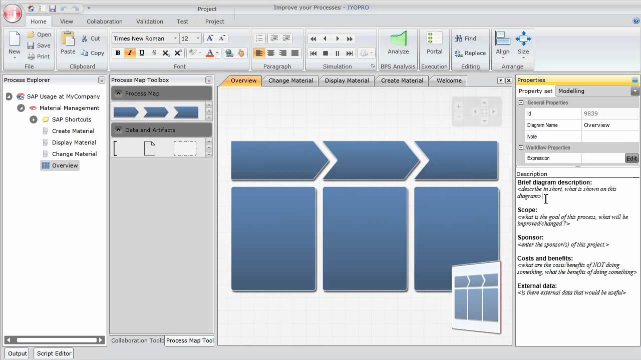 How To Create An Interactive Business Process Documentation For SAP - Business process documentation