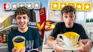 $1 Coffee VS $1,000 Coffee! (REAL 24 KARAT GOLD)