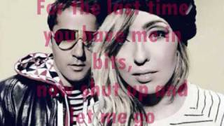 The Ting Tings - Shut Up & Let Me Go *Lyrics HQ