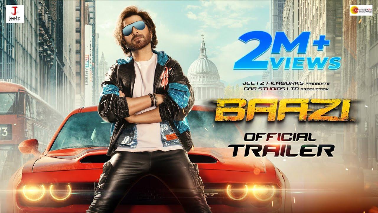 Download Baazi Official Trailer   Jeet   Mimi Chakraborty   Jeet Gannguli   Anshuman Pratyush