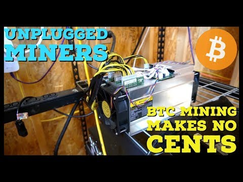 I Am Unplugging My Bitcoin Miners & You Should Too | ASIC Mining Is Dying