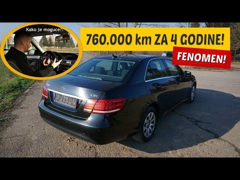 Specijal: 760 000 km za 4 godine! Mercedes E200 CDI 2015