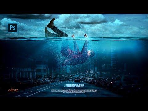 Photoshop Manipulation Tutorial || How to Make Underwater Photo