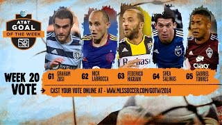 2014 AT&T Goal of the Week Nominees: Week 20