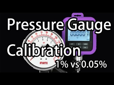 Learn pressure gauge calibration #digital pressure gauge