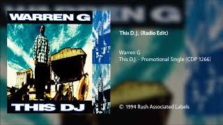 Warren G - This D.J. (Radio Edit)