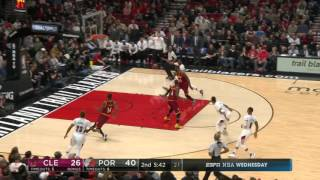 Cleveland Cavaliers at Portland Trail Blazers...