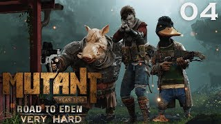 Mutant Year Zero (VeryHard) - 04 - THE SHAMAN! - Mutant Year Zero Gameplay