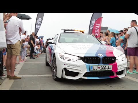 Cars and Coffee Slovenia 2017 - The arrive!