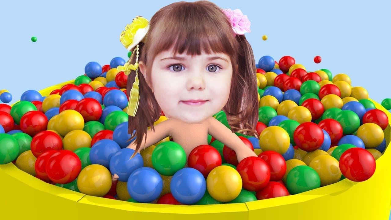 Видео для малышей английский цвета
