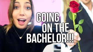 IM GOING TO BE ON THE BACHELOR!!! (not clickbait!!!)
