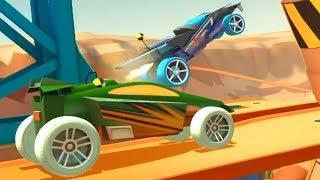 Игра КАК мультик МАШИНЫ МОНСТРЫ Race off Hot №3 wheels Игровой мультик Видео для детей Машинки