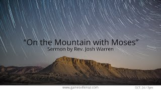 On the Mountain with Moses