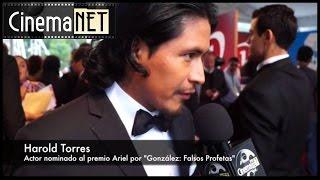 Harold Torres - Nominado al Ariel 2015