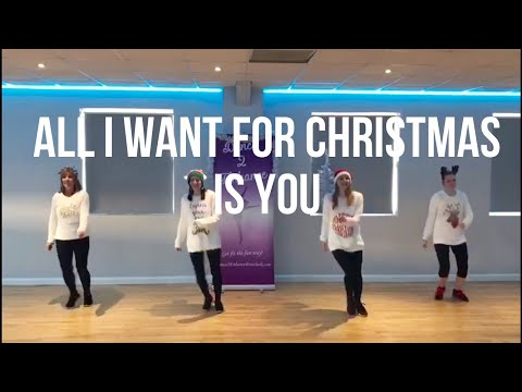 'All I Want For Christmas Is You' Mariah Carey - Christmas Dance Fitness Routine || Dance 2 Enhance