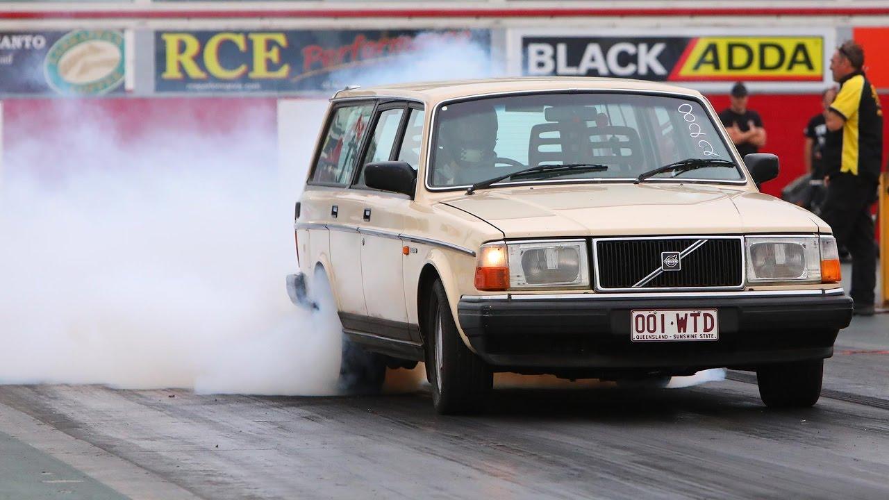 Sweet 11 Sec Turbo 1uz Powered Volvo Wagon Sleeper