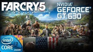Far Cry 5 | Gameplay ON GT630 2GB DDR3 [HD]