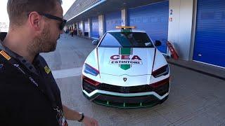 La Lamborghini Urus Dei Leoni Della Cea  650 Cv Antincendio A Jerez