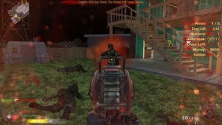 Nuketown Zombies Gameplay! - Black Ops Mod, Black Ops 2 Zombies Preview