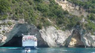 Výlet lodí na ostrovy Antipaxos a Paxos(, 2009-08-09T09:23:00.000Z)