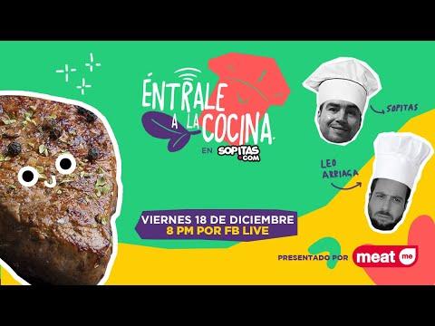 En YouTube: Éntrale a la Cocina con Sopitas y Leo Arriaga