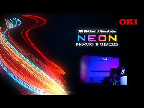 oki-pro6410-neoncolor-video