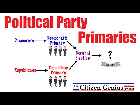 Political Party Primaries