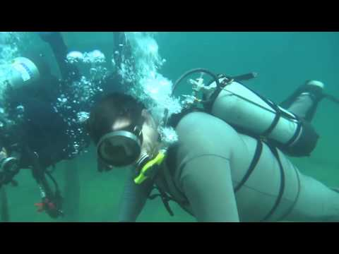 Double Hose Diving, Gilboa and White Star Quarries in Ohio