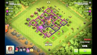 Clash of Clans Comedy base in master league (part 2) Town Hall 7 in master