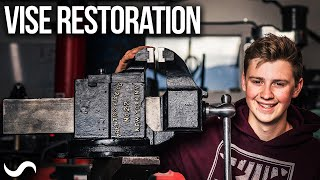 RESTORING A MONSTER VISE!!! - Prentiss No.22