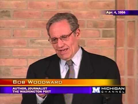 Bob Woodward - The Importance of the Ford Years - 04/04/06