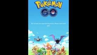 pokemon go 3 server down
