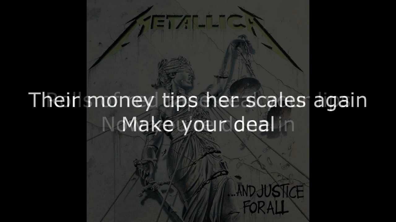 Metallica – ...And Justice for All Lyrics | Genius Lyrics