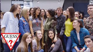 Camila Cabello at GUESS 5th Avenue in New York City Extended Cut