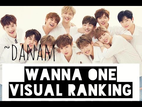 Visual Ranking - Wanna One 2017