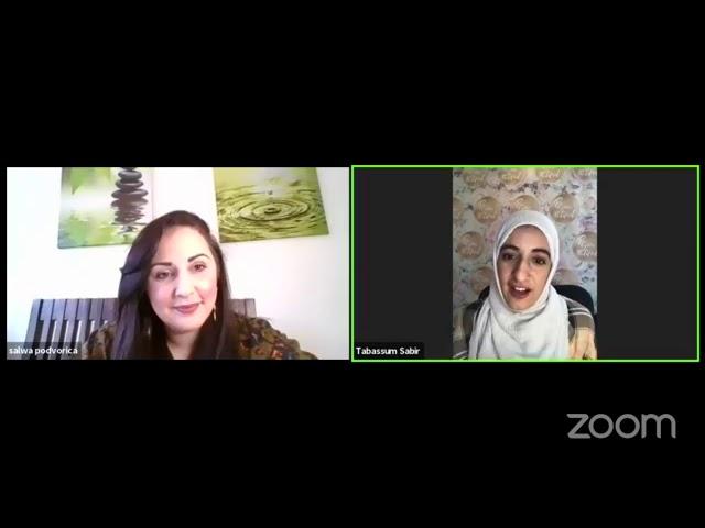 Celebrating strong women in Islam - Salwa interviews Tabassum