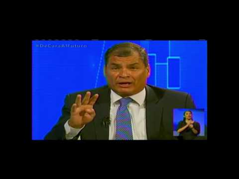 Rafael Correa opina sobre diálogo presidencial 2017