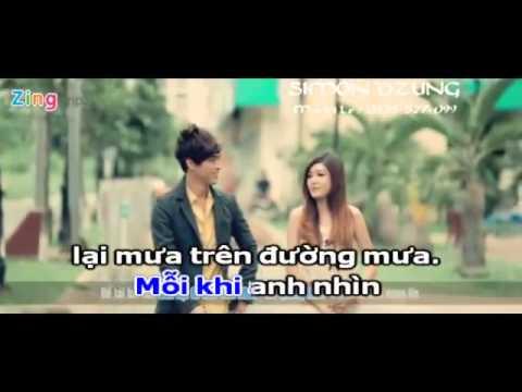 [Karaoke] Còn Lại Gì Sau Cơn Mưa - Hồ Quang Hiếu  - YouTube.FLV