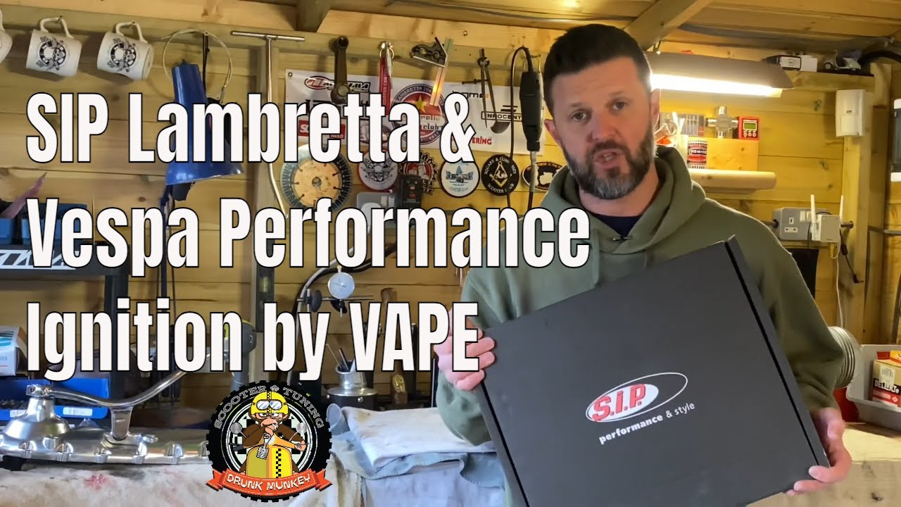 SIP Lambretta & Vespa Performance Ignition by VAPE  - SIP Scootershop