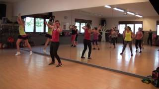Zumba à Liège - warm up 3 - U Can't Touch This (Remix) - ZIN 62