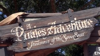 Panda's PIRATE ADVENTURE Treasures Of The Seven Seas Quest - Adventureland - Magic Kingdom - Disney