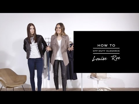 HOW TO: Off-Duty Elegance - REISS
